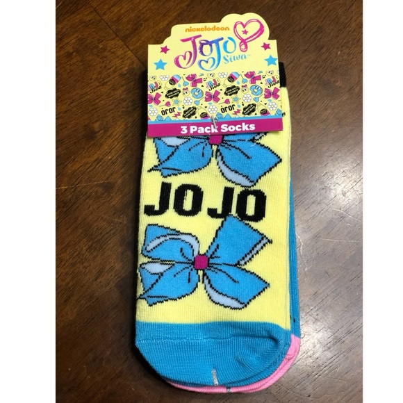ae32430a3 Jojo Siwa ankle sock 3 Pack